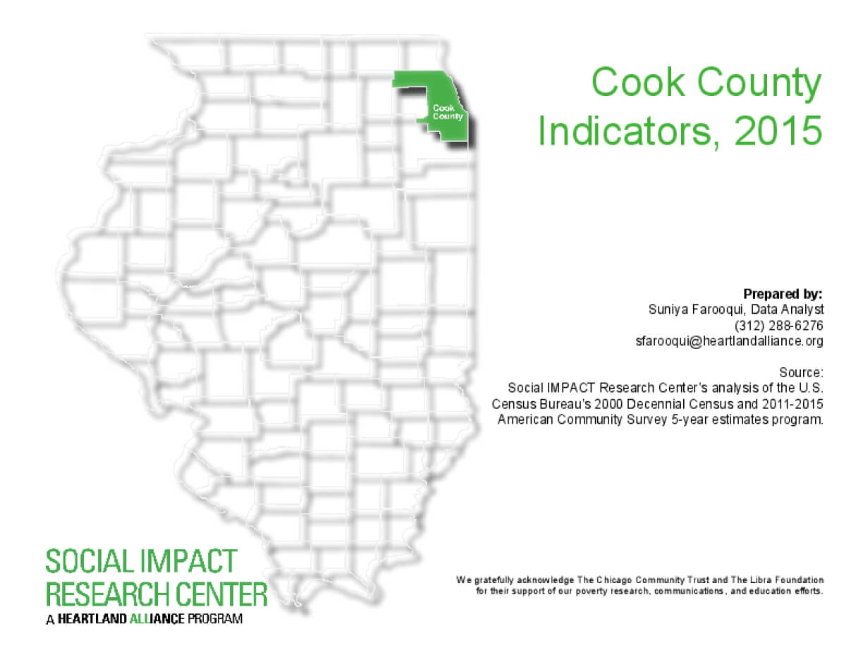 Cook County Indicators, 2015