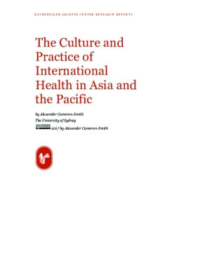 The Culture and Practice of International Health in Asia and the Pacific