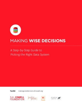 Making Wise Decisions: A Step-by-Step Guide to Selecting the Right Data System