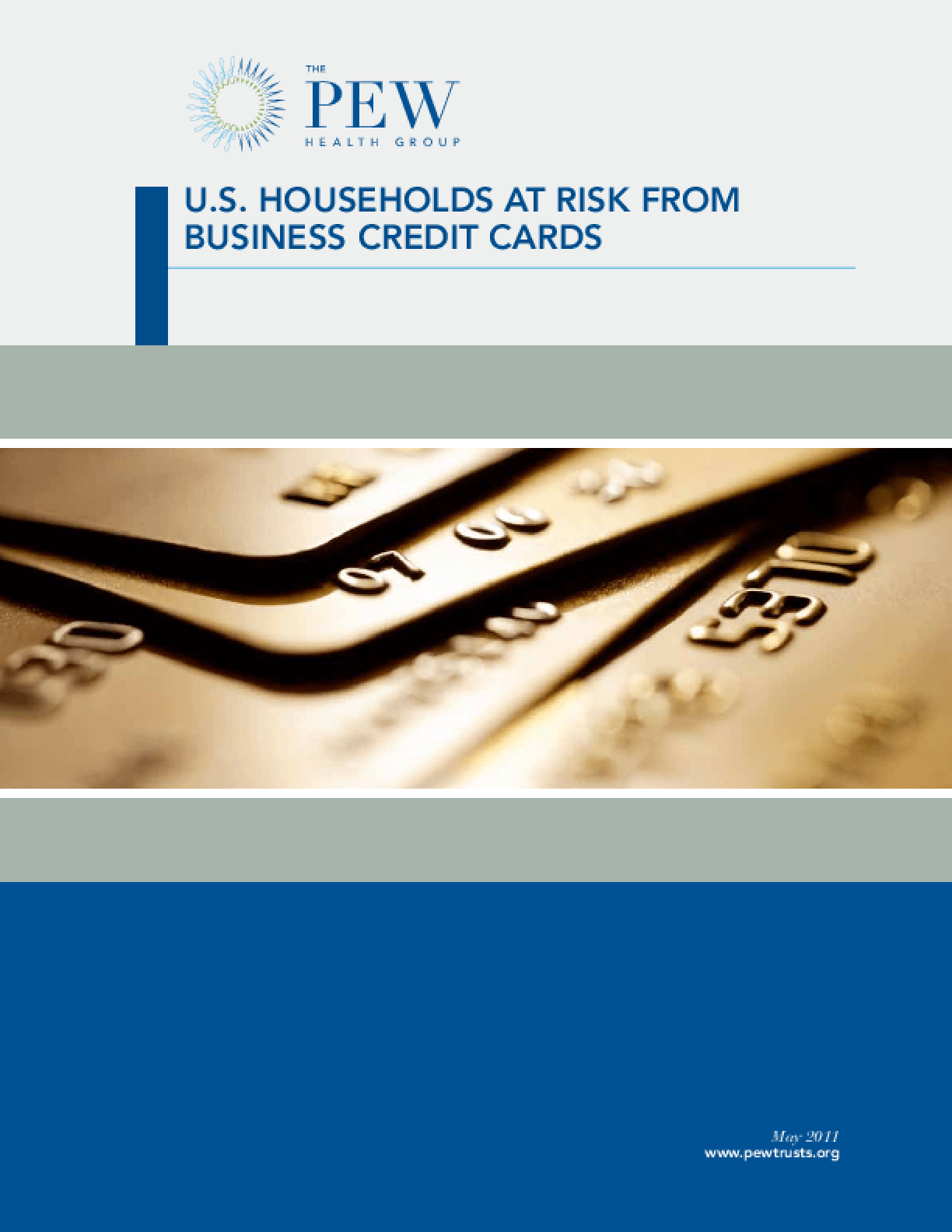 Business Credit Cards Place U.S. Households at Risk
