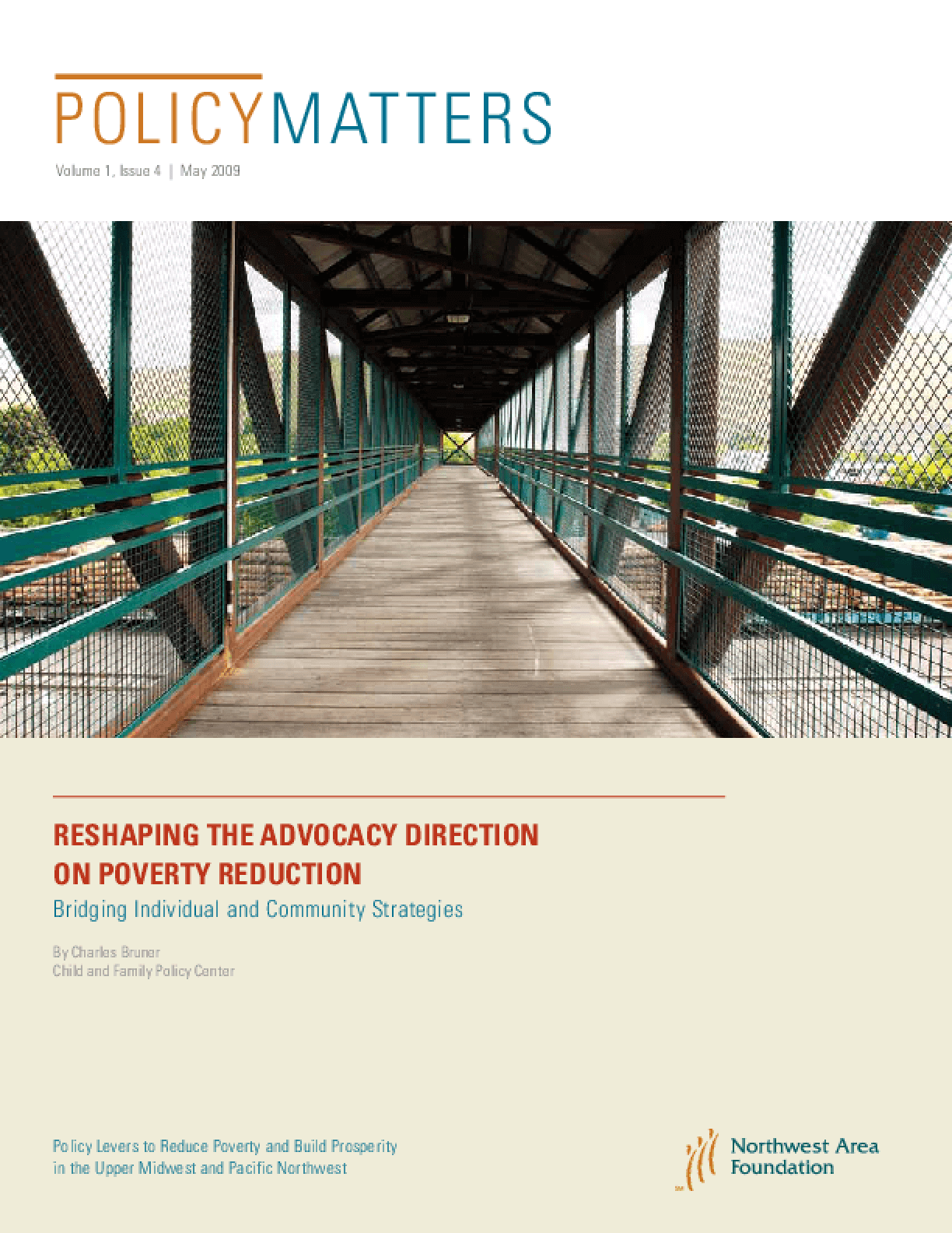 PolicyMatters: Reshaping the Advocacy Direction on Poverty Reduction