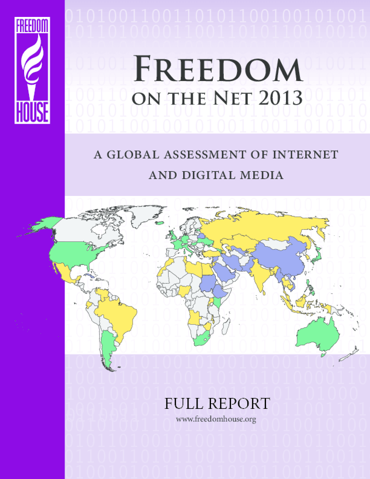 Freedom on the Net 2013