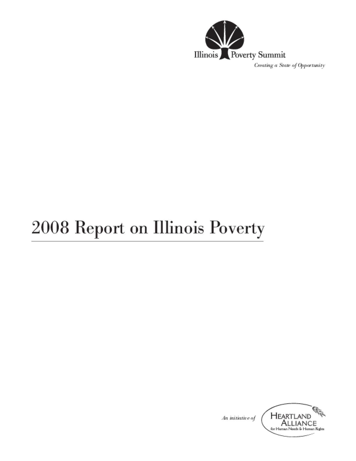 2008 Report on Illinois Poverty
