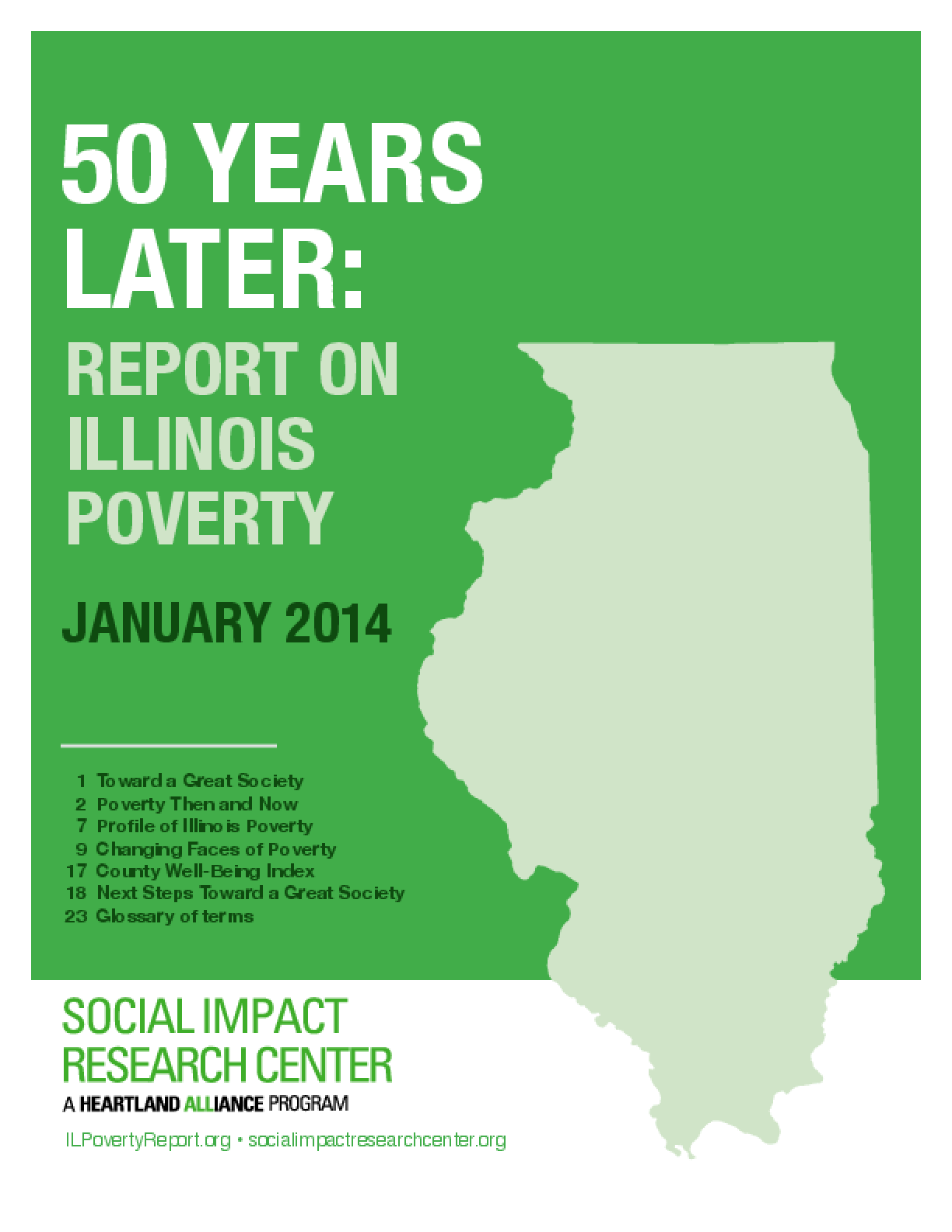 50 Years Later: Report on Illinois Poverty