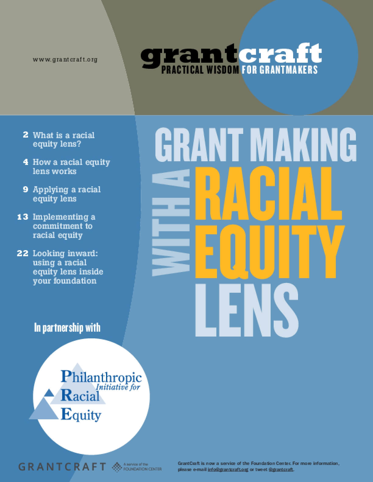 Grantmaking with a Racial Equity Lens