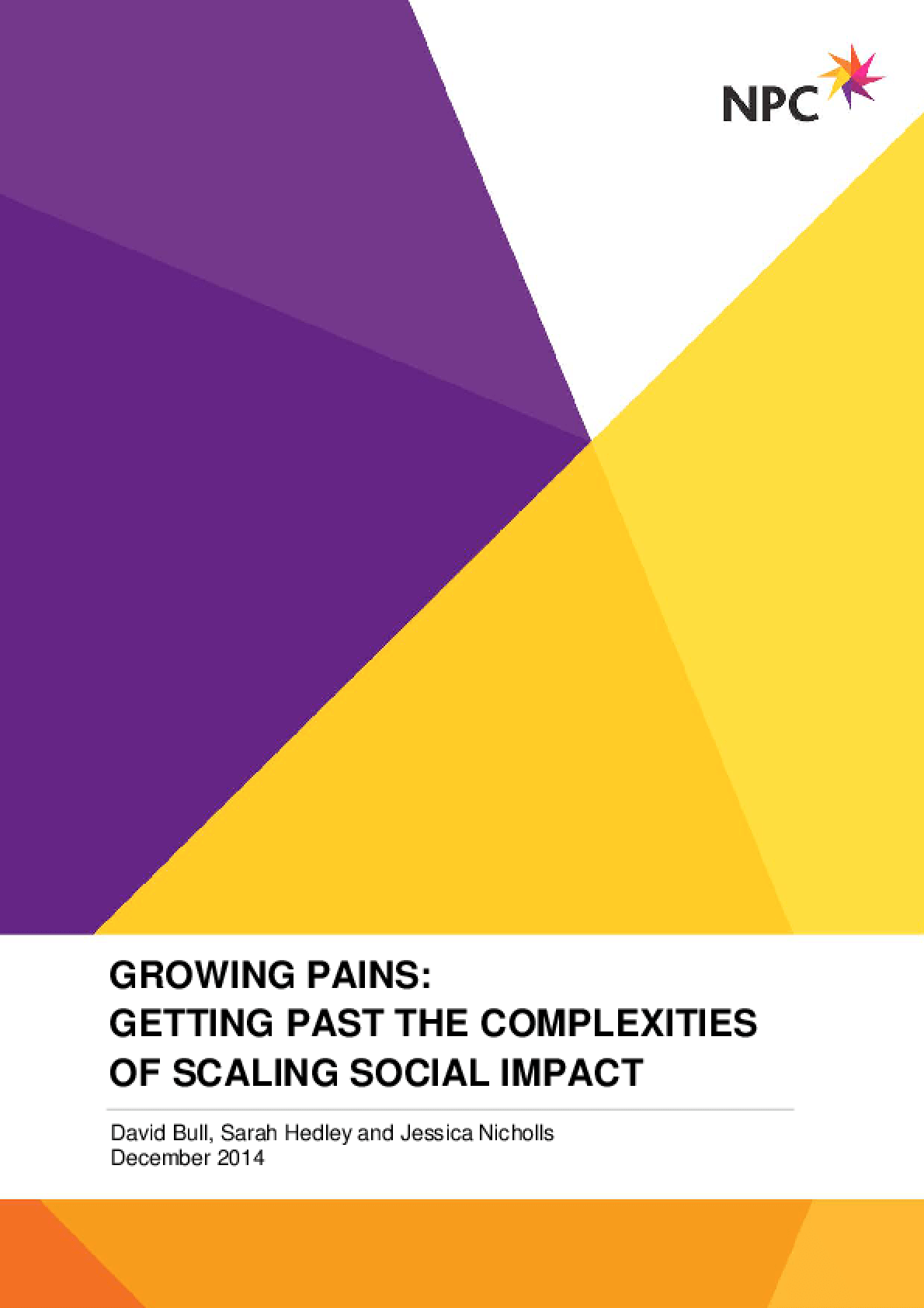 Growing Pains: Getting past the complexities of scaling social impact