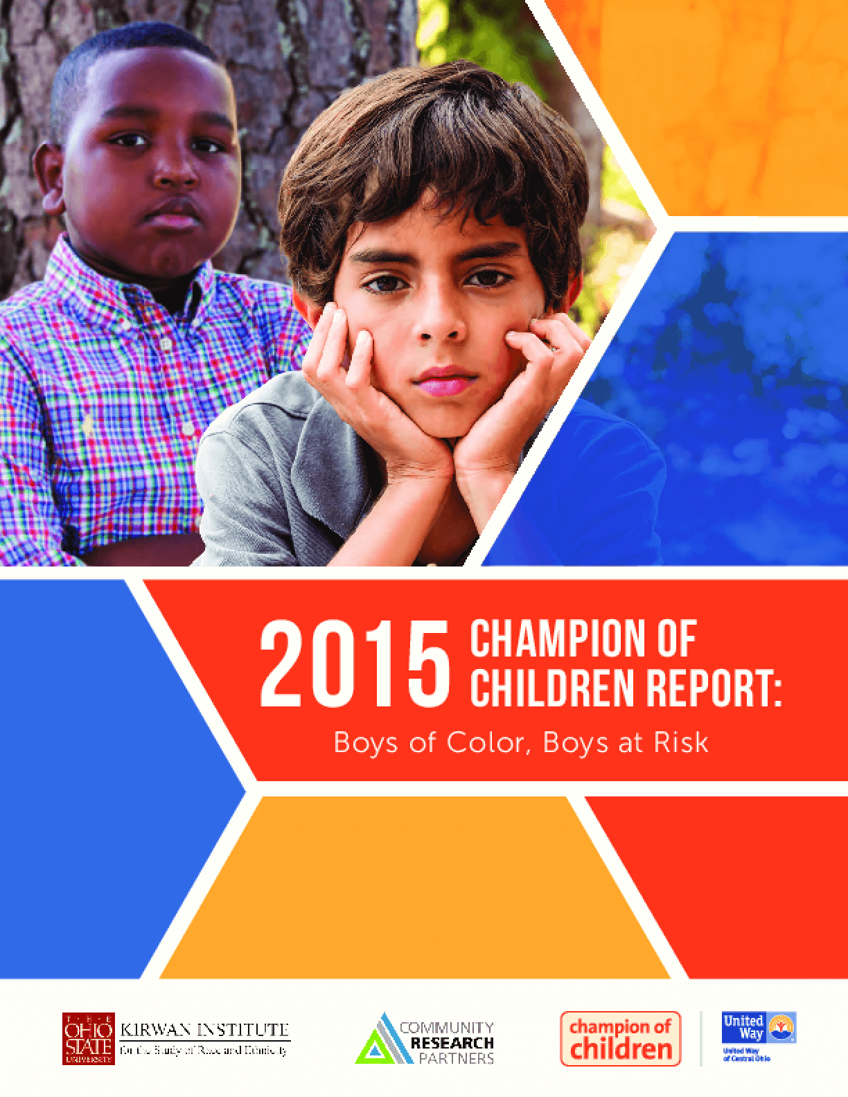 2015 Champion of Children: Boys of Color, Boys at Risk Report