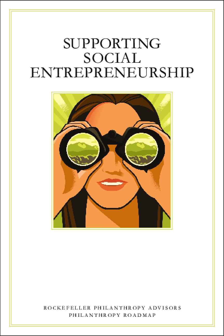 Supporting Social Entrepreneurship