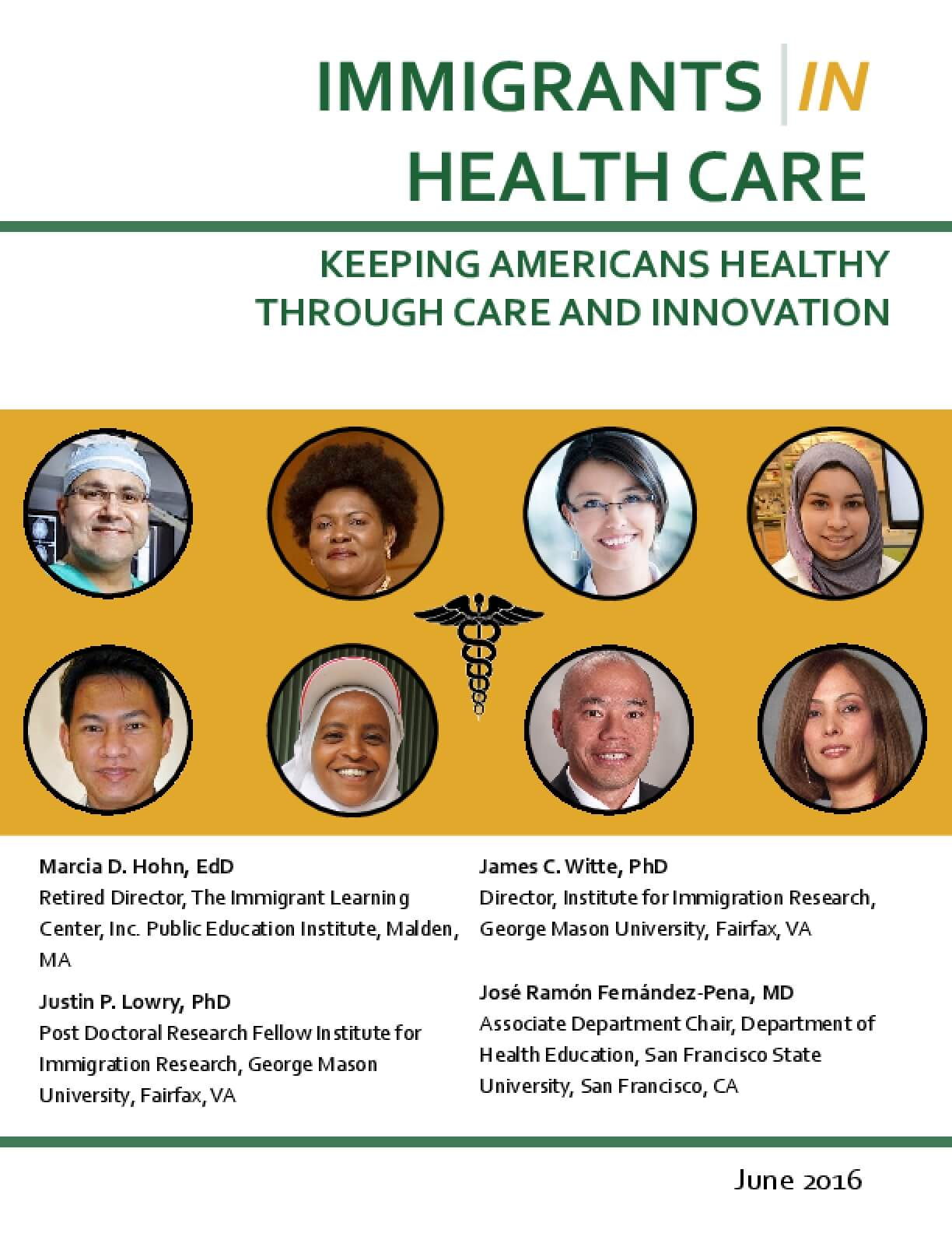 Immigrants in Health Care: Keeping Americans Healthy Through Care and Innovation