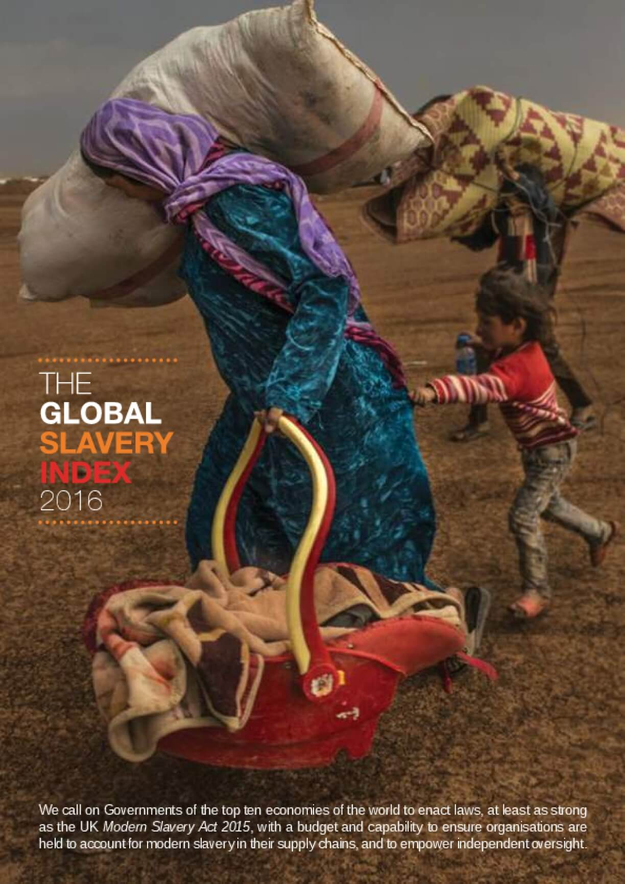The Global Slavery Index 2016