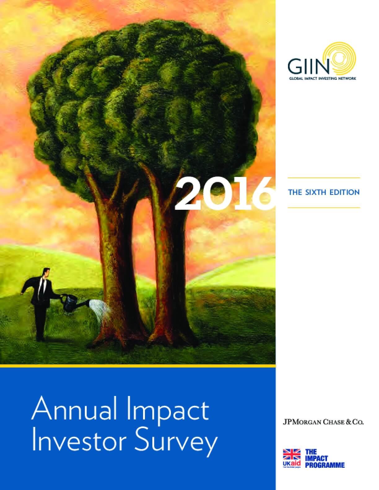 Annual Impact Investor Survey 2016