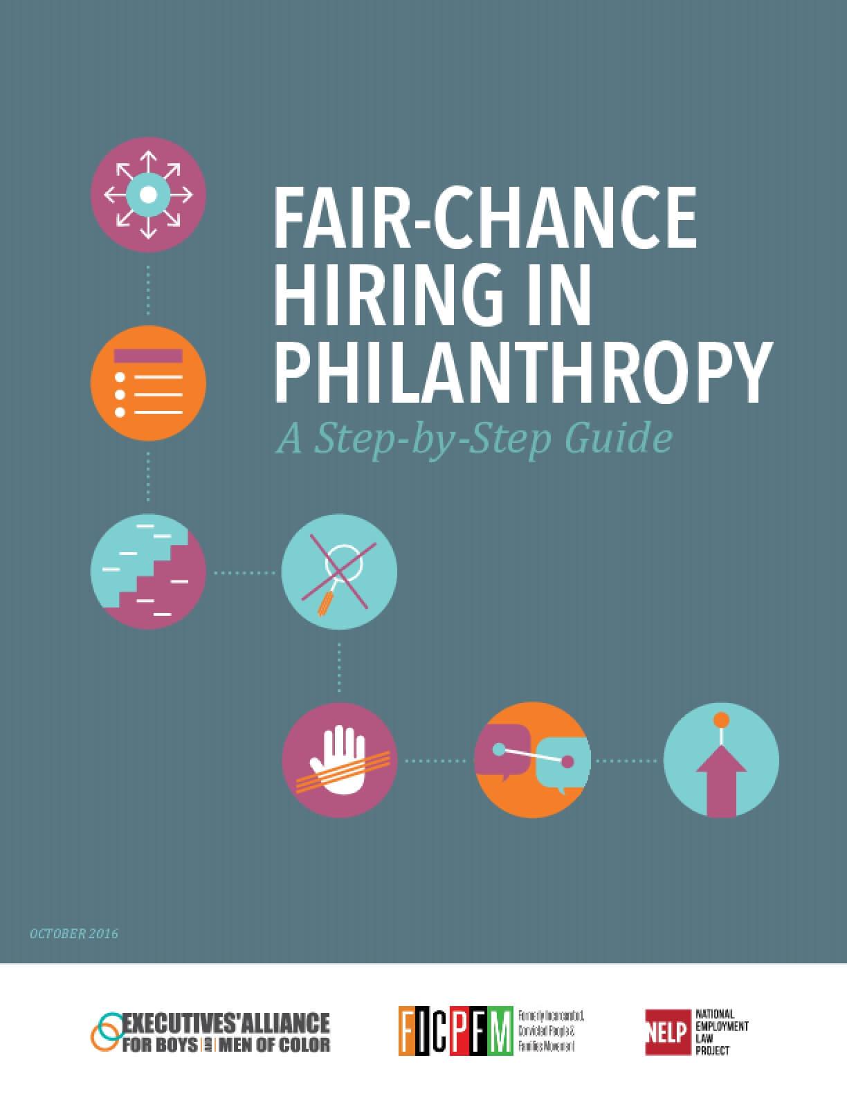 Fair-Chance Hiring in Philanthropy: A Step-by-Step Guide