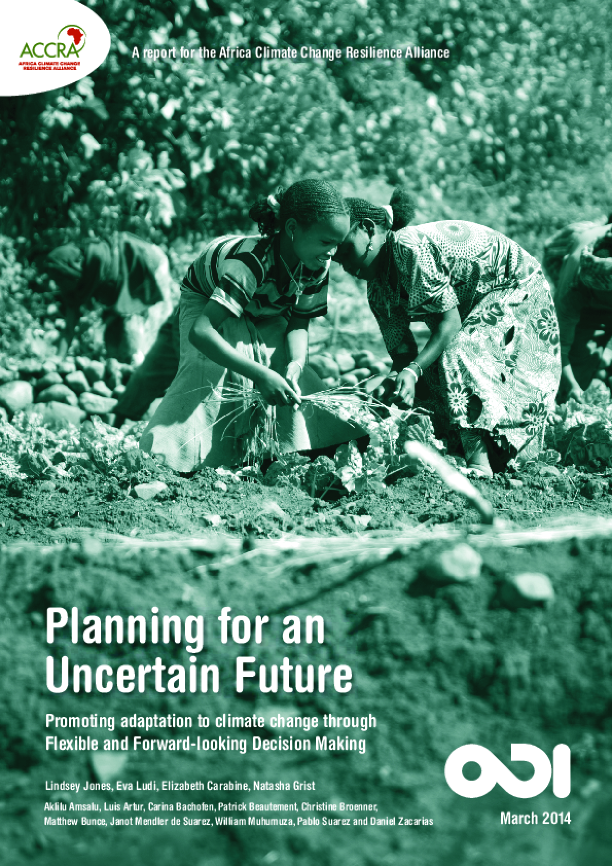Planning for an Uncertain Future: Promoting adaptation to climate change through  flexible and forward-looking decision making
