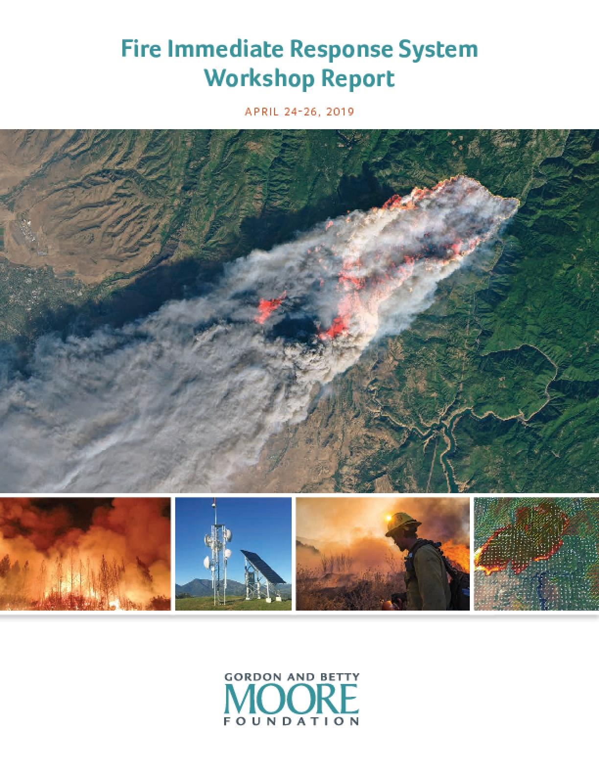 Fire Immediate Response System Workshop Report