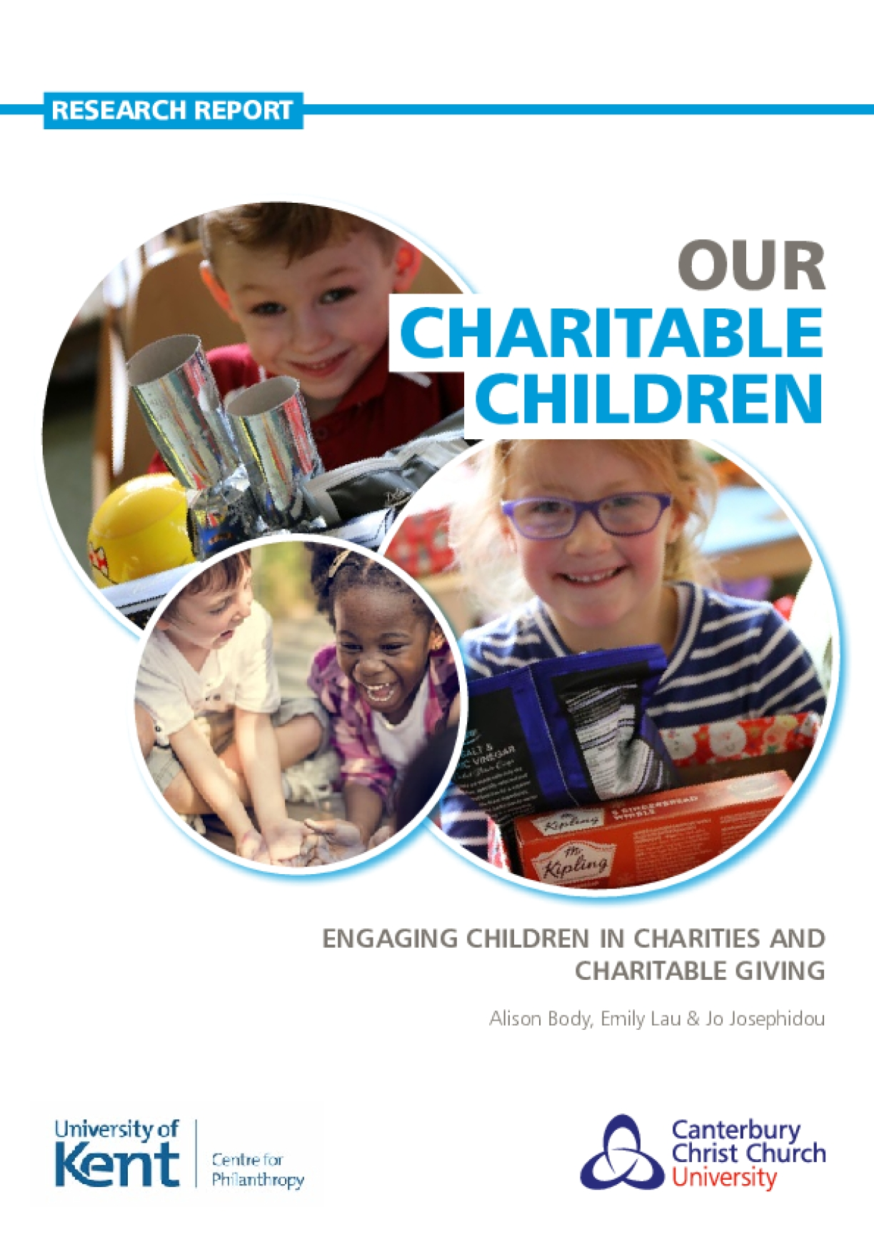 Our Charitable Children: Engaging Children in Charities and Charitable Giving