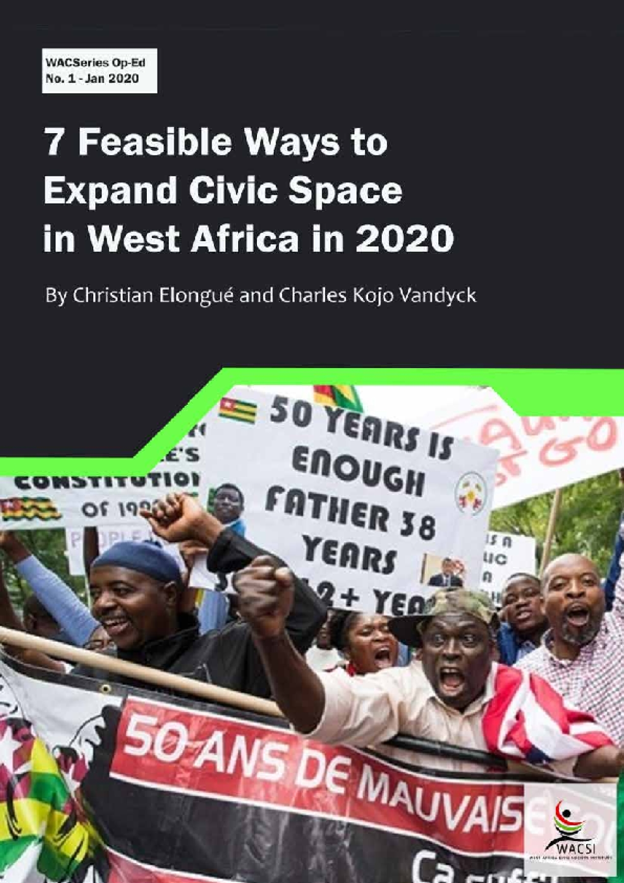 7 Feasible Ways to Expand Civic Space in West Africa in 2020