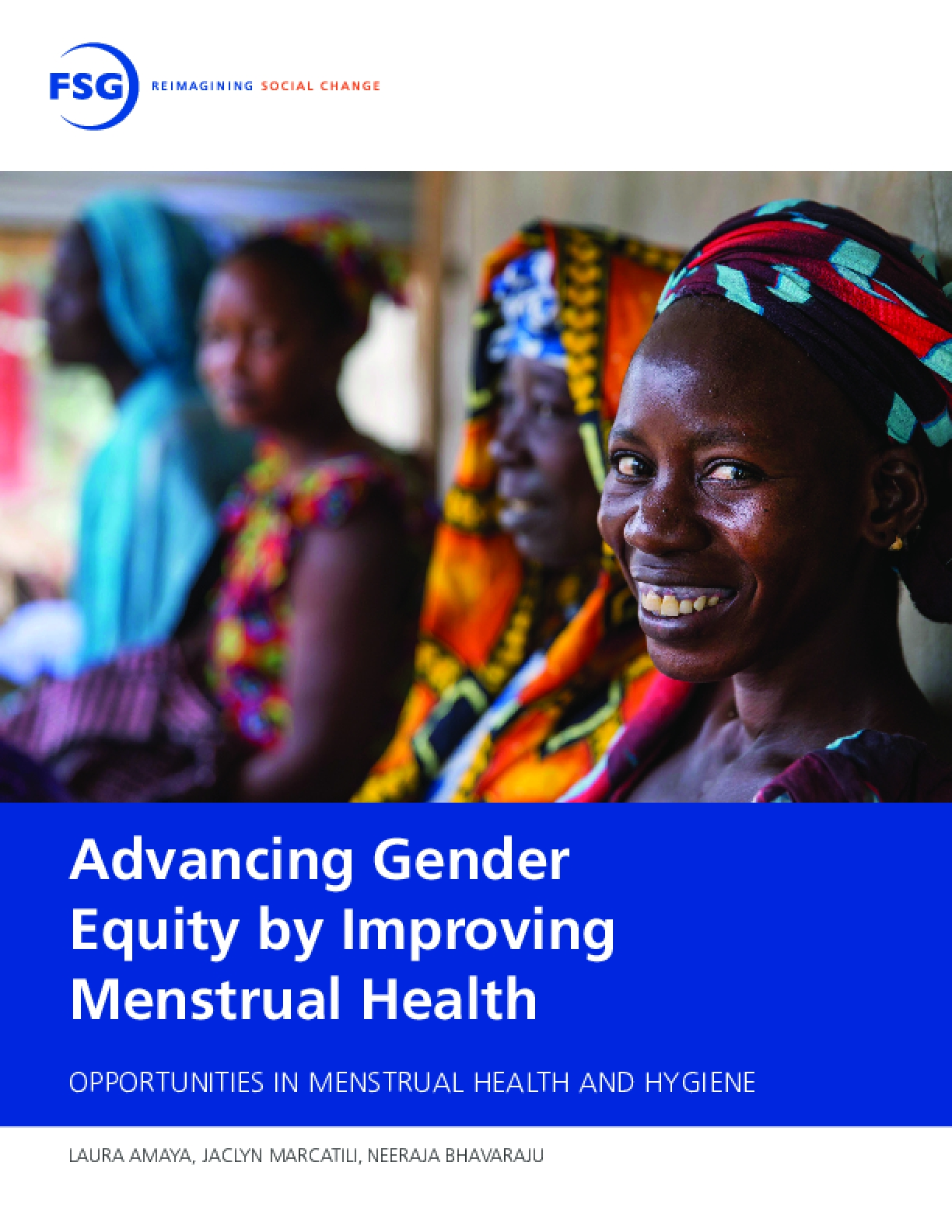 Advancing Gender Equity by Improving Menstrual Health