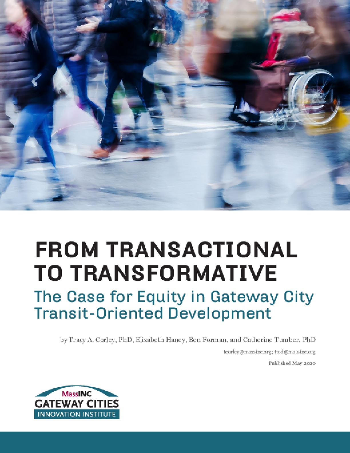 From Transactional to Transformative: The Case for Equity in Gateway City Transit-Oriented Development