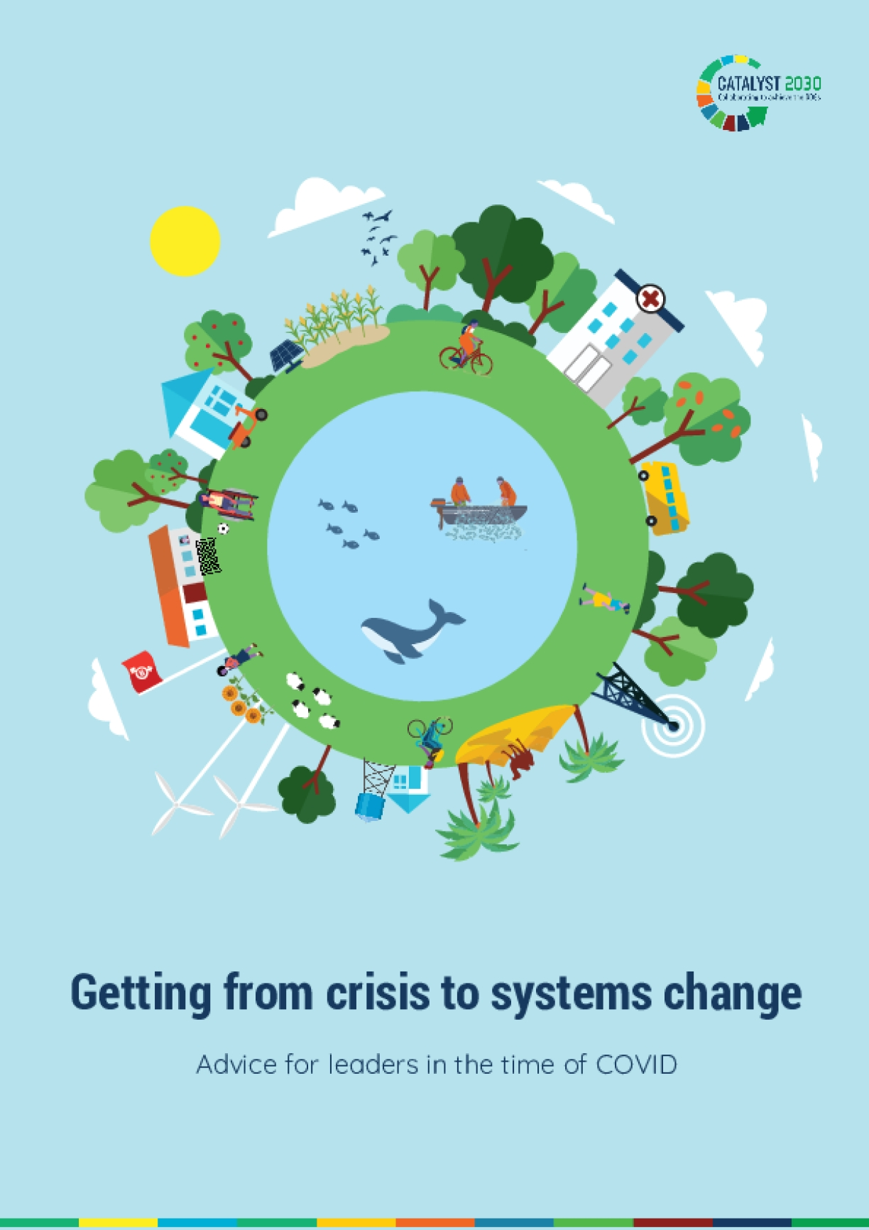 Getting from crisis to systems change: Advice for leaders in the time of COVID
