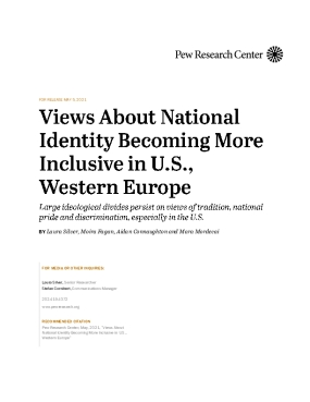 Views About National Identity Becoming More Inclusive in U.S., Western Europe
