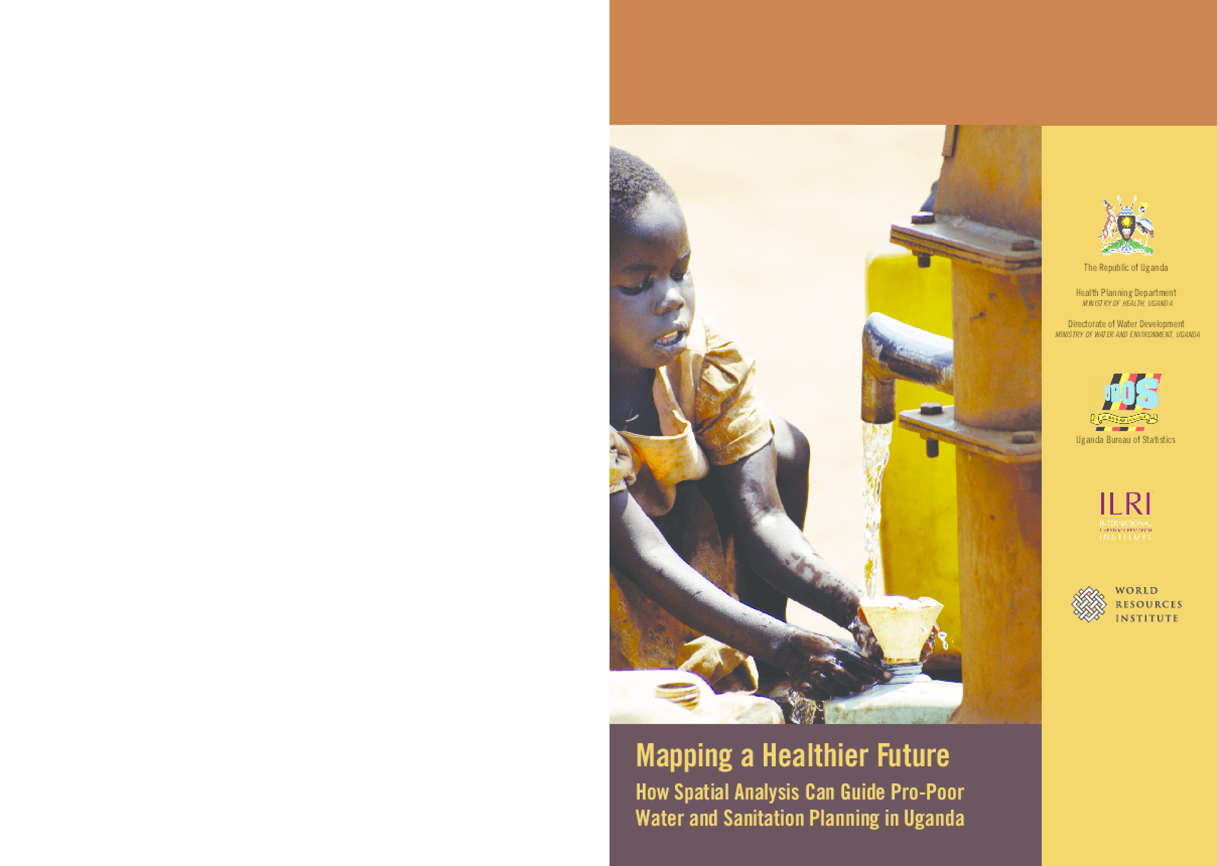 Mapping a Healthier Future: How Spatial Analysis Can Guide Pro-Poor Water and Sanitation Planning in Uganda