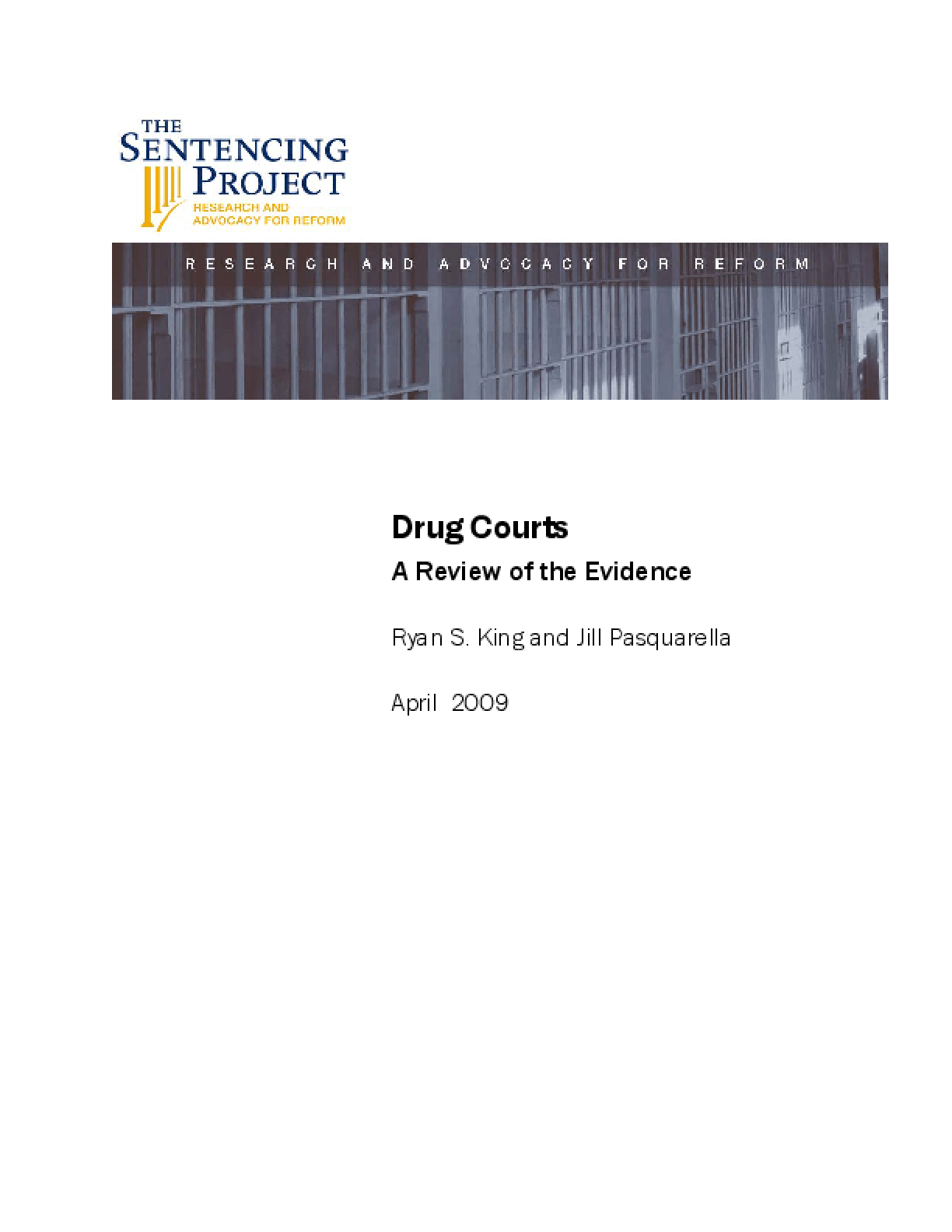 Drug Courts: A Review of the Evidence