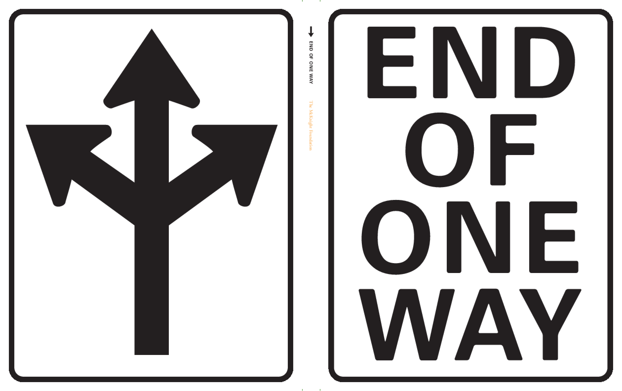End of One Way