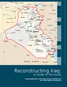 Reconstructing Iraq: A Guide to the Issues
