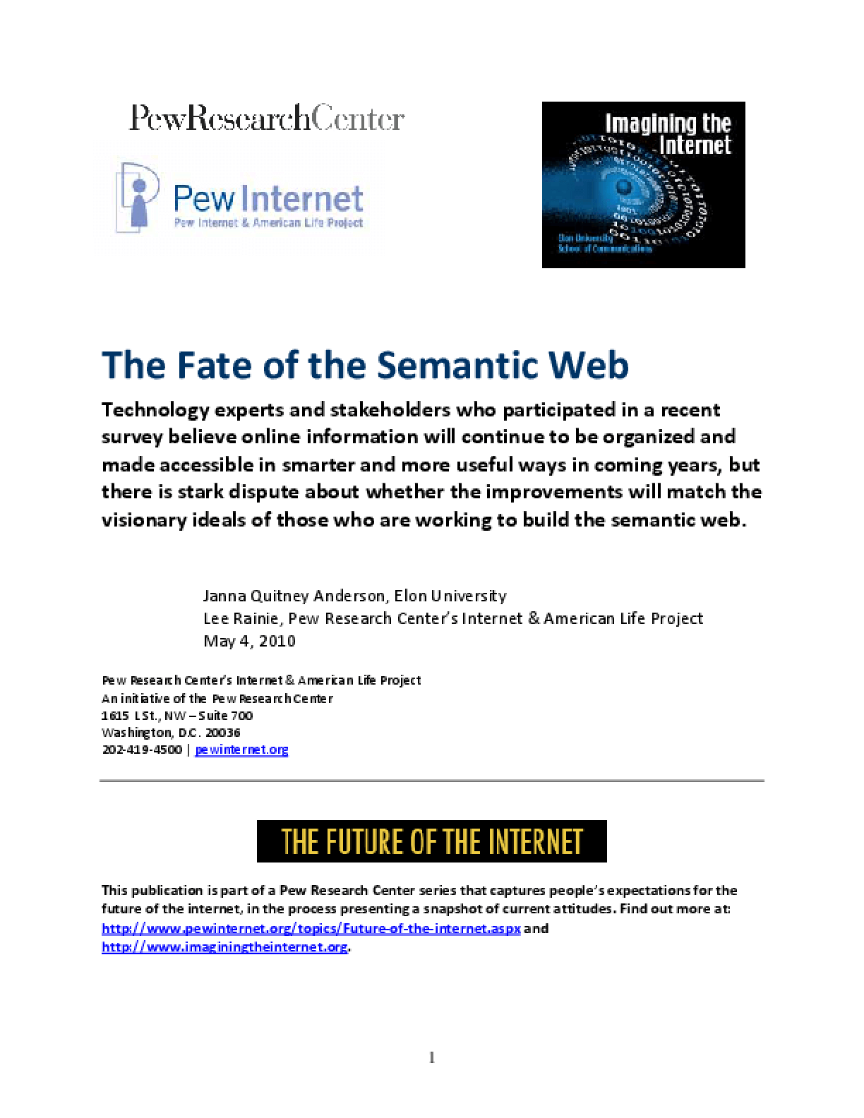 The Fate of the Semantic Web